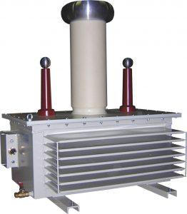 Transformateur d'essais haute tension 2x50kV